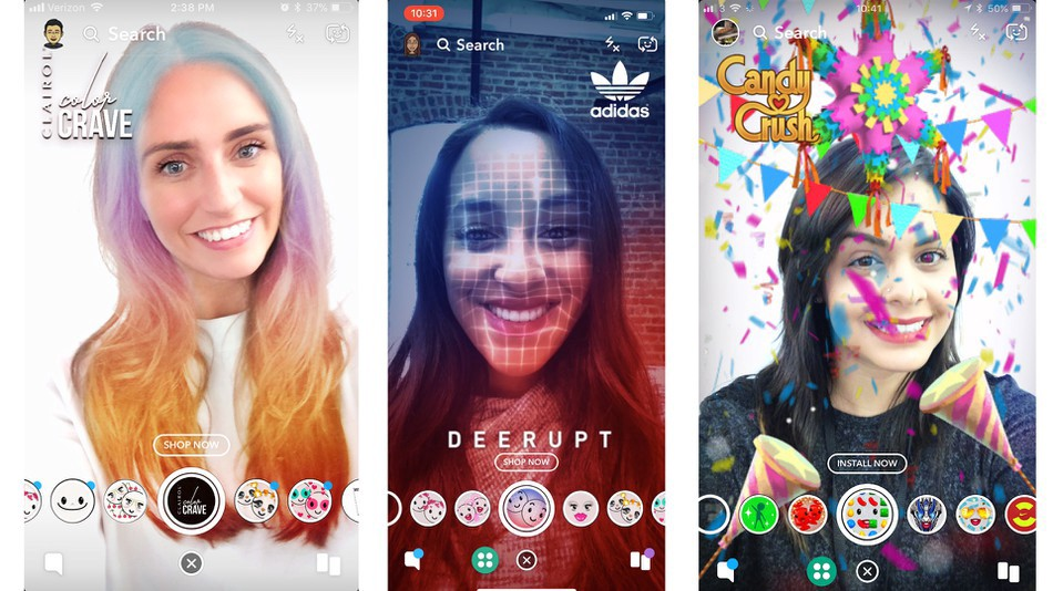 Augmented Reality_social filters