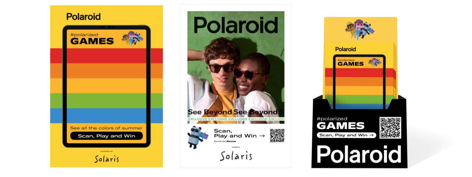Polaroid Eyewear brand identity