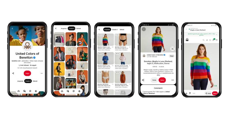 Come usare Pinterest: Case Study United Colors Of Benetton